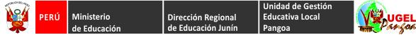 Logo Ugel Pangoa